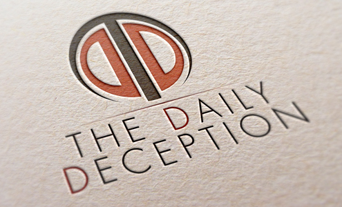 The Daily Deception Logo